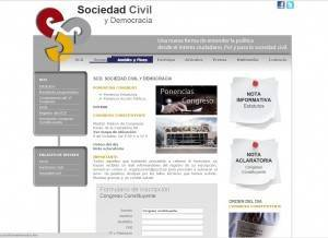 Sociedad civil y democracia