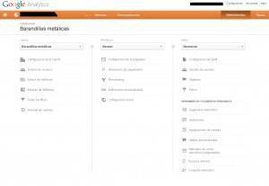 Google Analytics por fin cambia su panel de Administrador