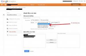 Bloquear una IP en google Analytics